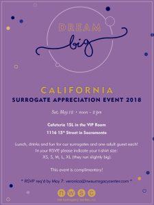 California Surrogacy appreciation party