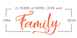 25 Years of Hope, Love & Families