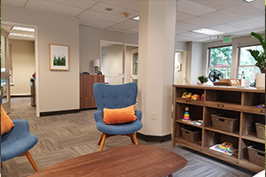 Northwest Surrogacy Center's office.